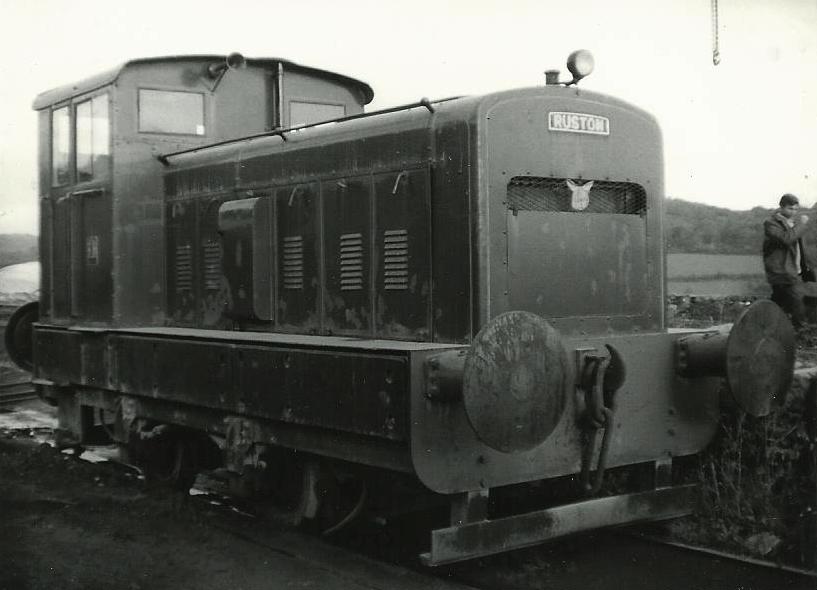 No. 299107 at Pentregwenlais Works, Carmarthen in November 1969. ©Hugh Llewelyn