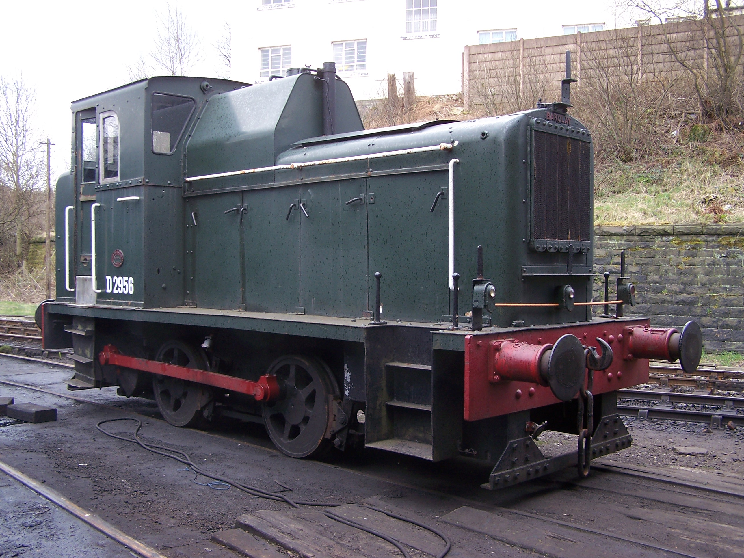 D2956 at the East Lancashire Railway in March 2008. ©David Mylett