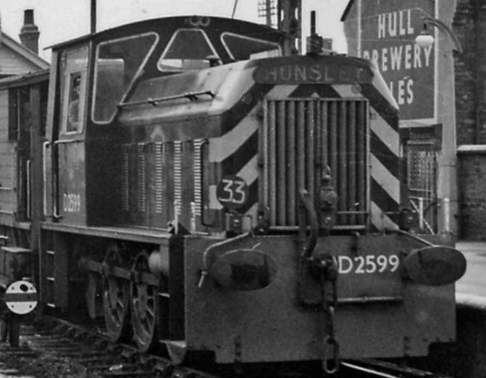 D2599 at Goole in 1961. © Ben Brooksbank