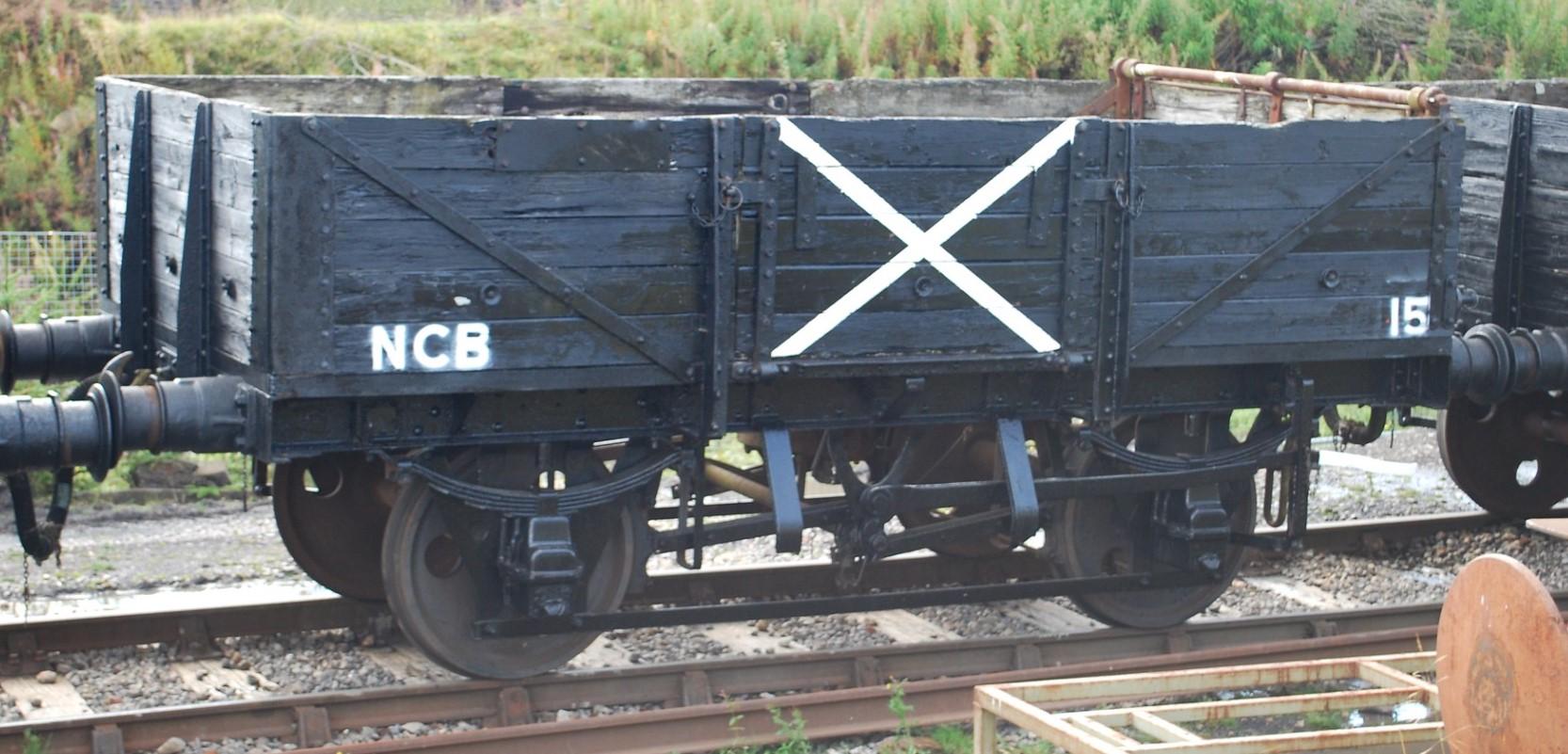 B743415 at the Pontypool & Blaenavon Railway in September 2011. ©Hugh Llewelyn