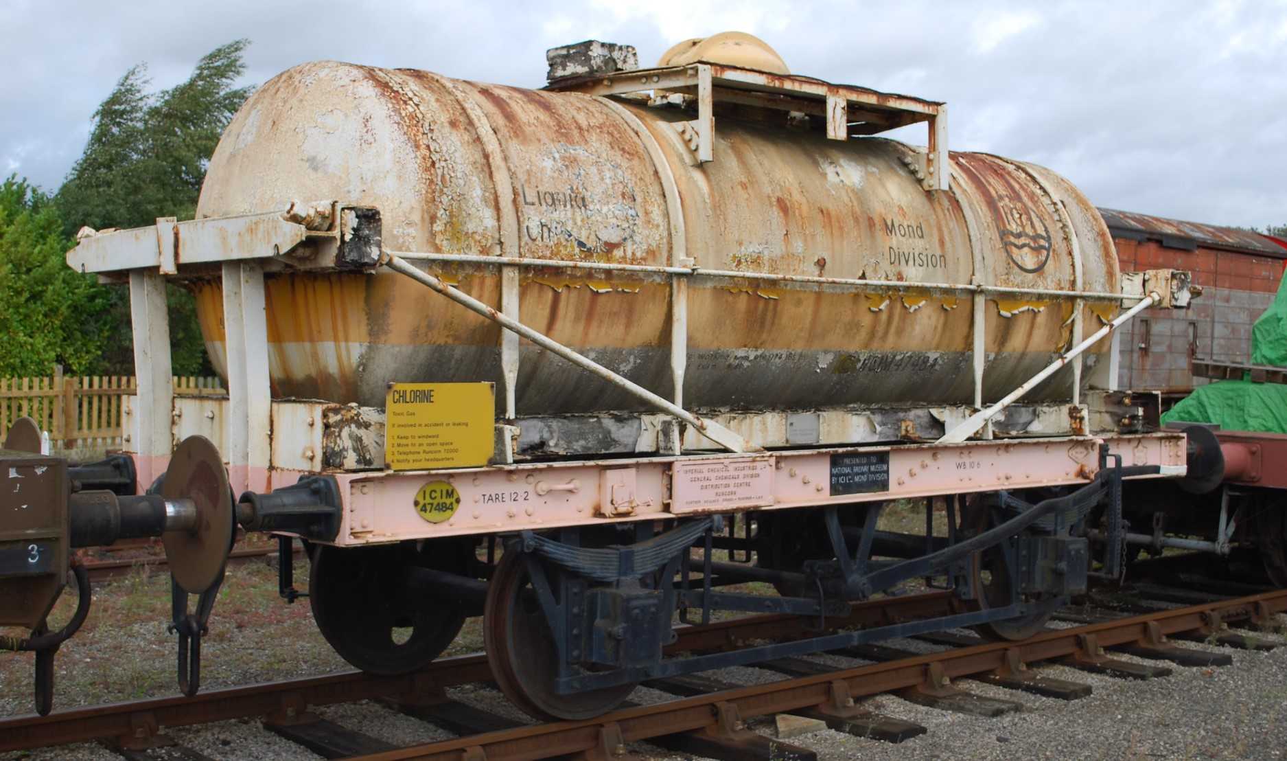 47484 at the National Railway Museum in September 2010. ©Hugh Llewelyn