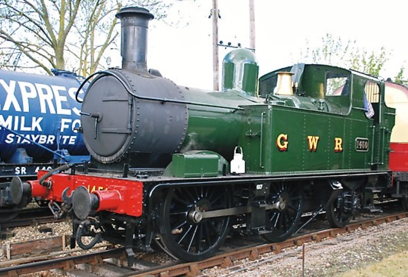 1450 at Didcot Railway Centre in May 2010. ©Hugh Llewelyn