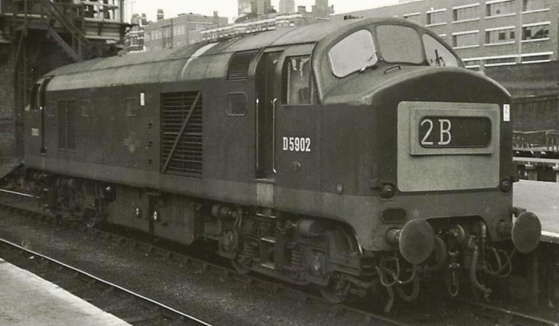D5902 at London Kings Cross in July 1966. ©Hugh Llewelyn