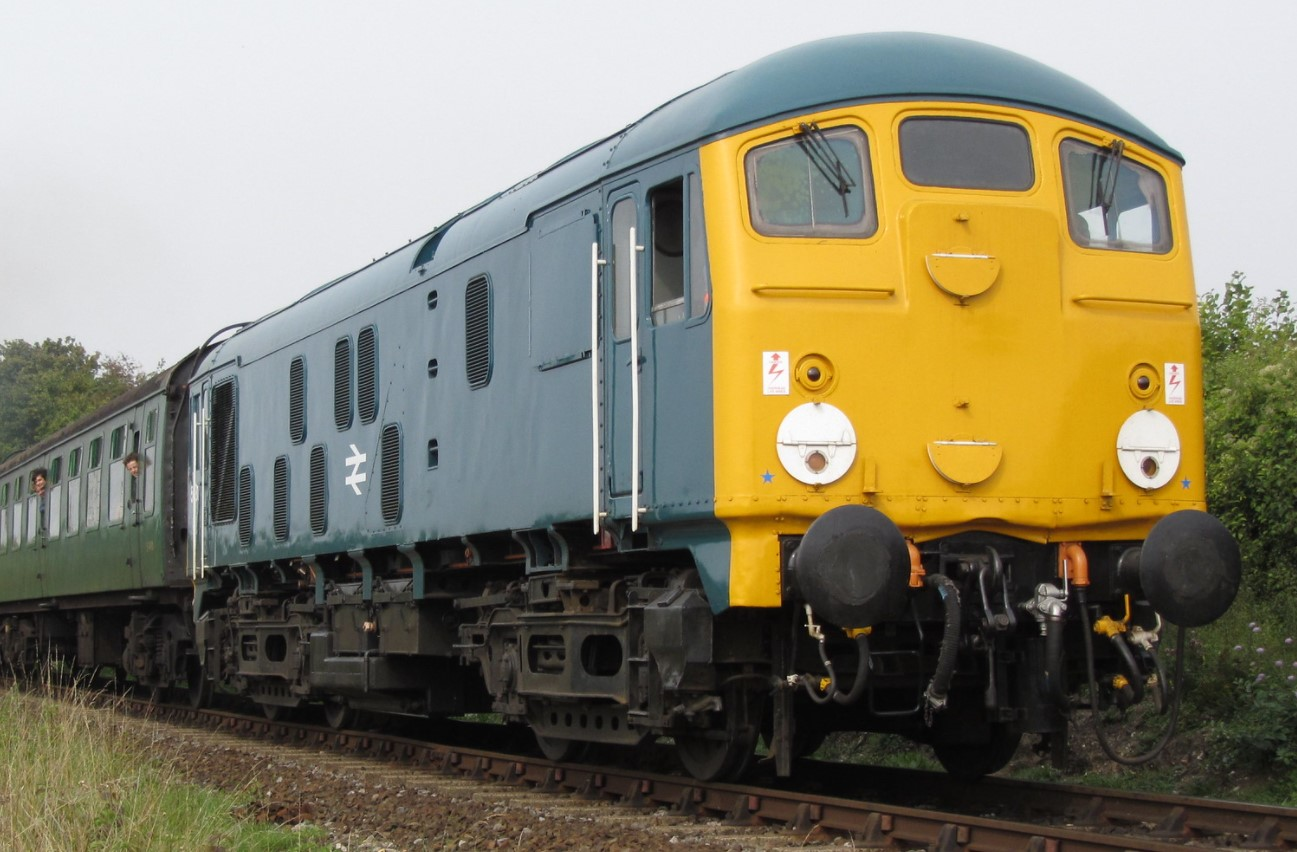 24081 at Bishop's Sutton on the Mid Hants Railway in September 2014. ©Foulger Railway Photography