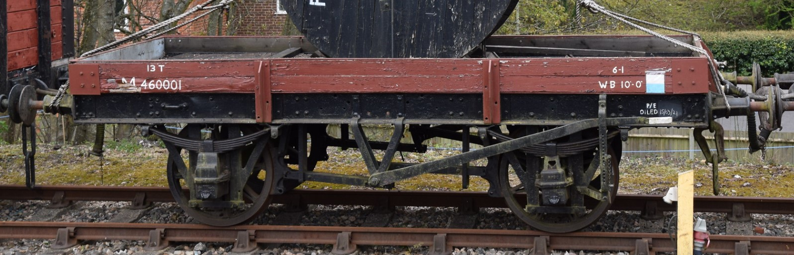 M460001 at the Mid Hants Railway in April 2021. ©Hugh Llewelyn