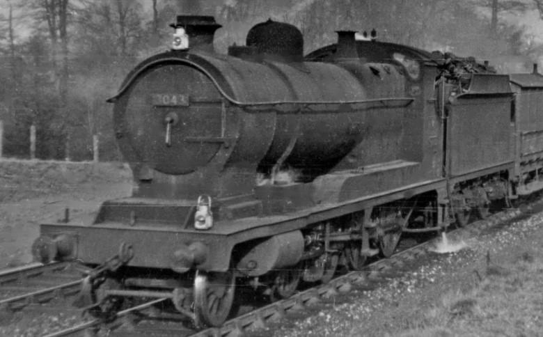 GWR 3043 at Seer Green in 1950. ©Ben Brooksbank