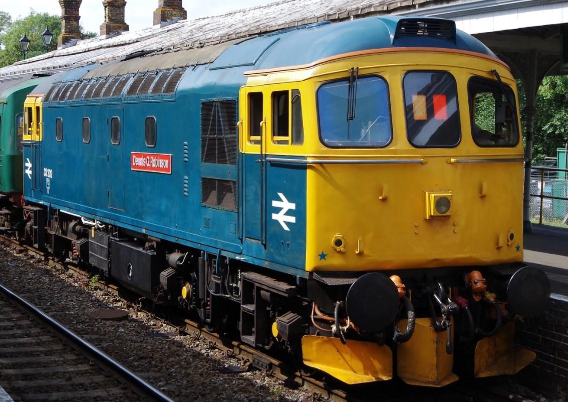 33202 at Eridge in August 2014. ©Clagmaster