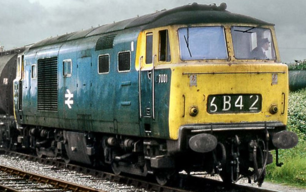 D7001 at Cranmore in July 1973. © Gordon Edgar