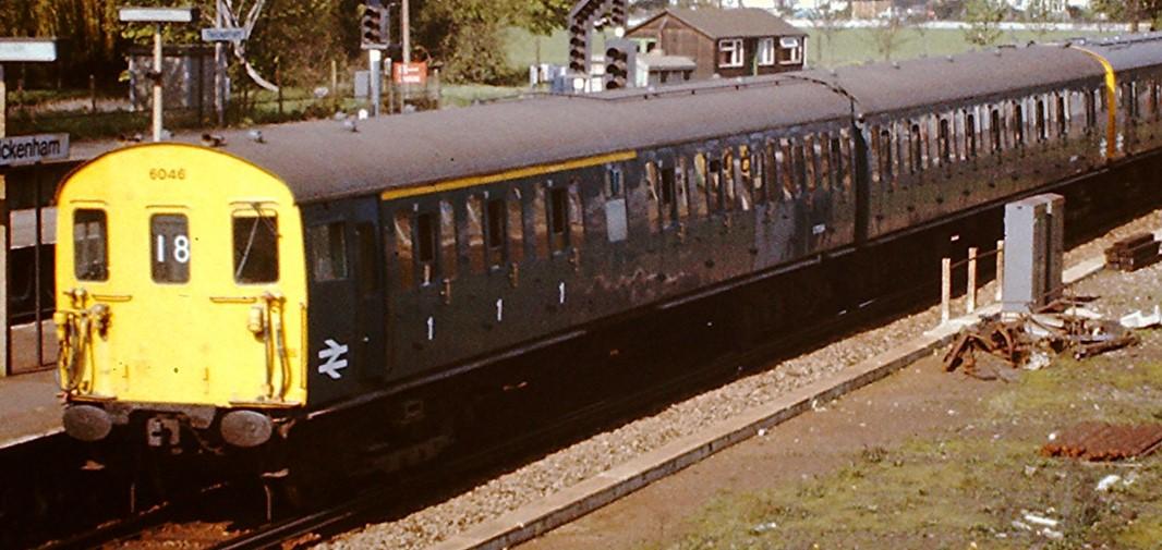 6046 at Twickenham in April 1975. ©Hugh Llewelyn