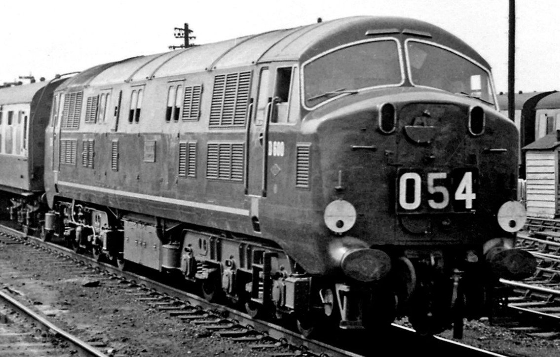D600 'Active' at Reading General in July 1959. ©Ben Brooksbank