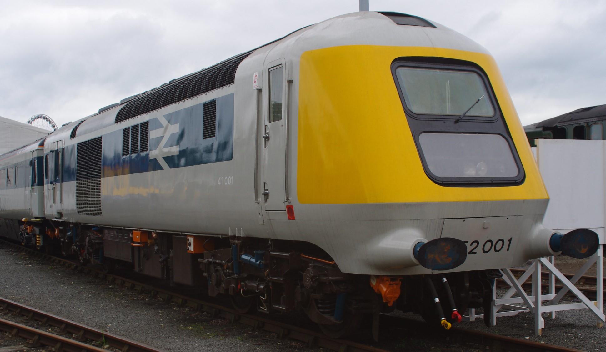 41001/ 252001 at Railfest 2012 in June 2012. ©Clagmaster