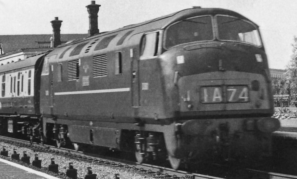 D861 'Vigilant' at Tilehurst in June 1962. ©Ben Brooksbank