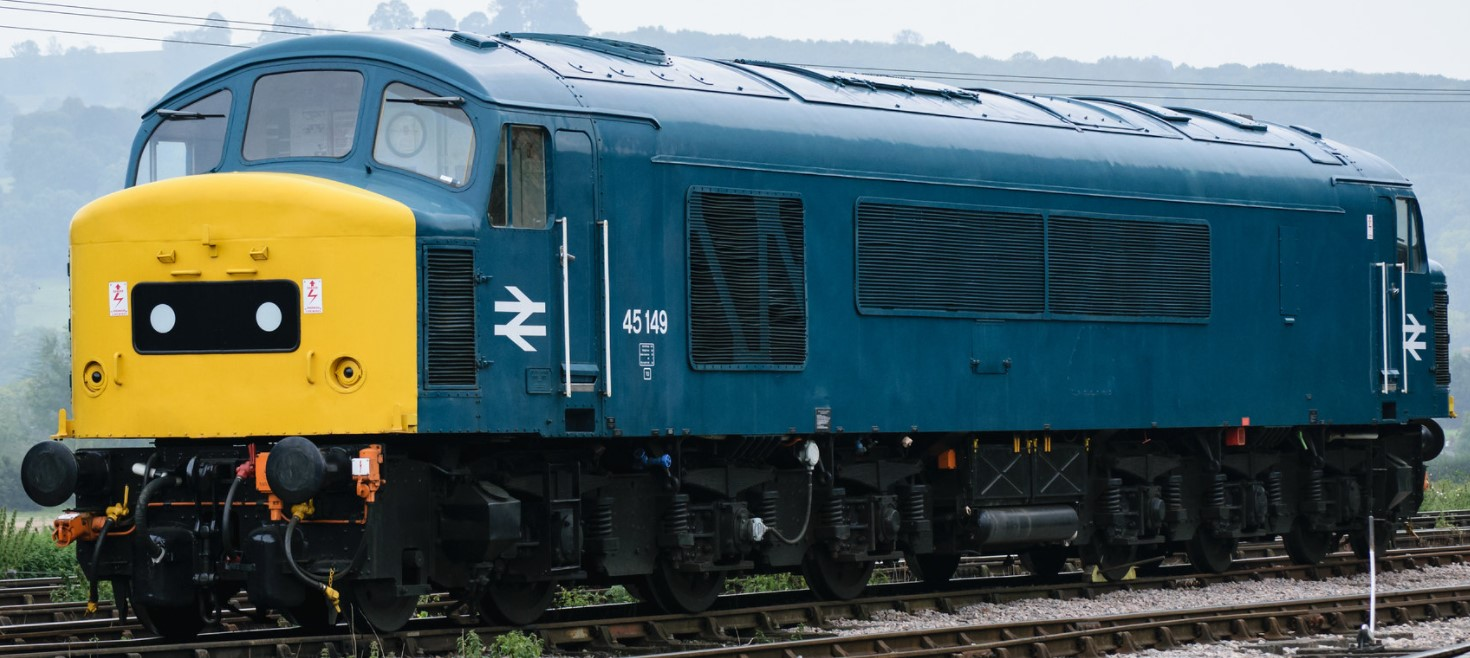 45149 at the Gloucestershire & Warwickshire Railway in September 2017. ©Dan Adkins