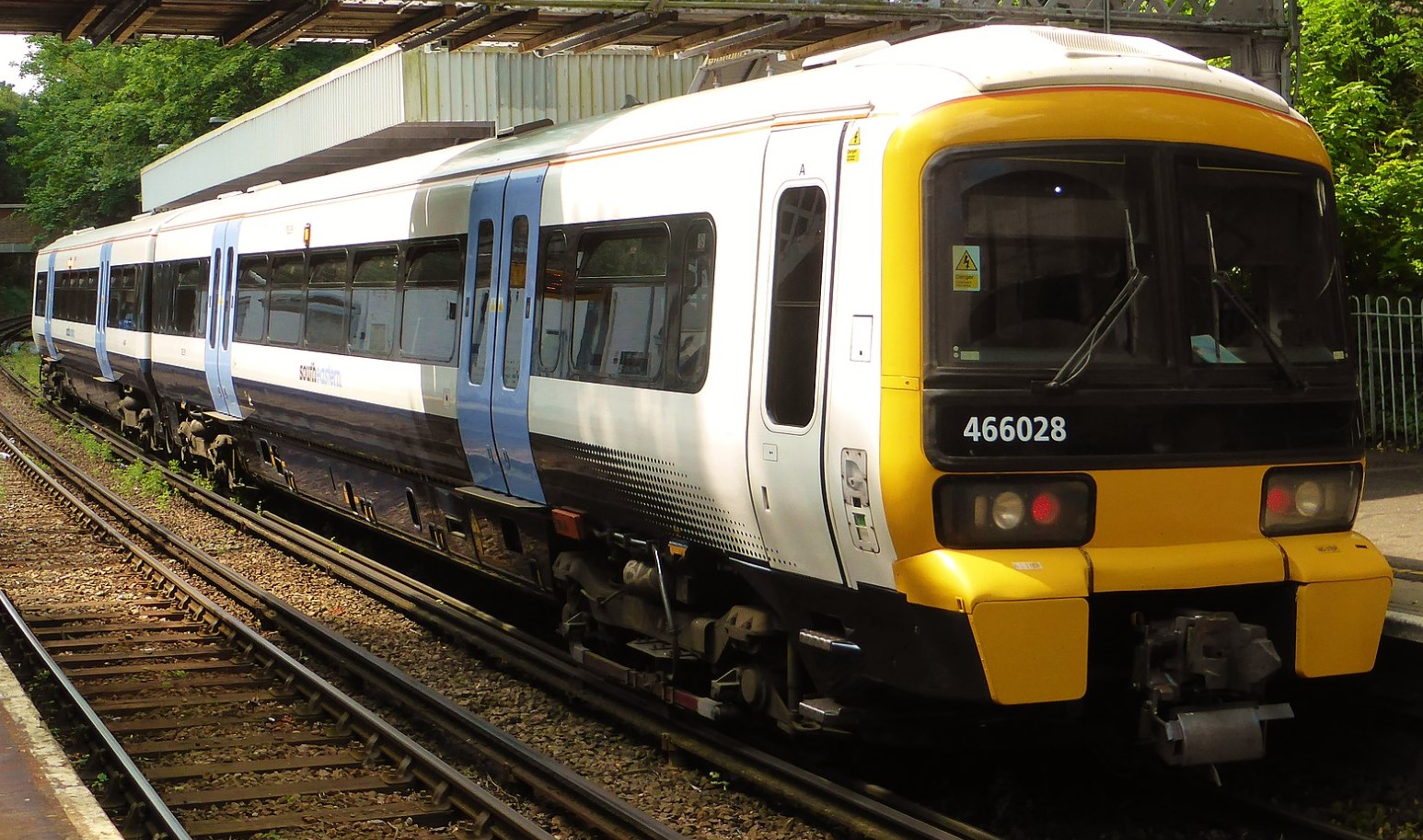 466028 at Sundridge Park in July 2015. ©Train Photos