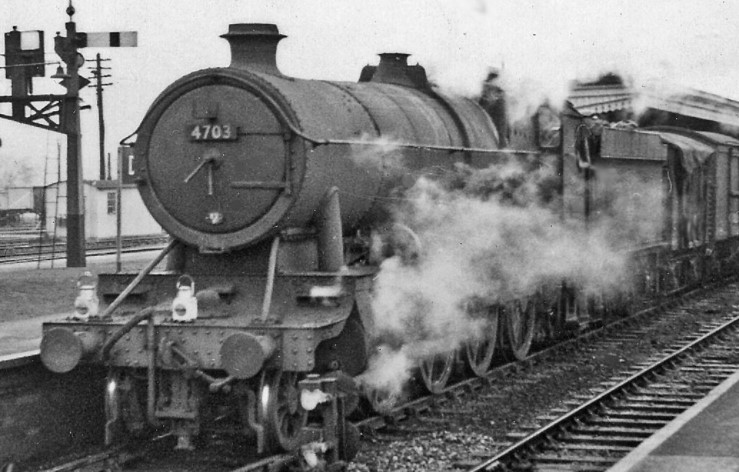 4703 at Didcot in 1957. ©Ben Brooksbank