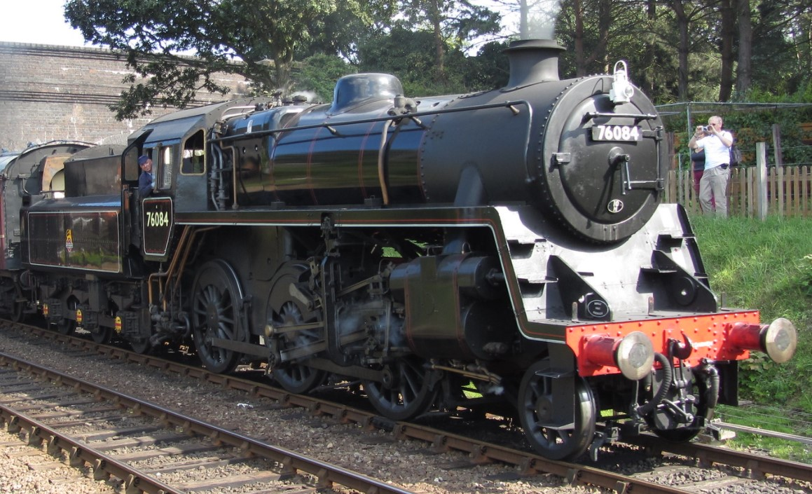 76084 at Weybourne on the North Norfolk Railway in August 2013. ©Foulger Railway Photography