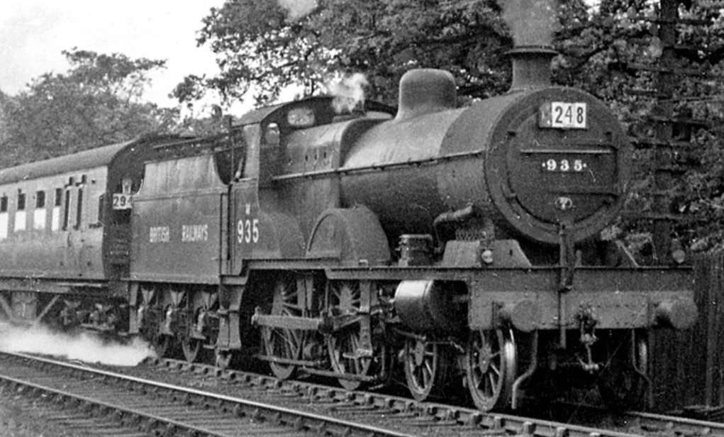 935 ascending the Lickey incline in July 1948. ©Ben Brooksbank