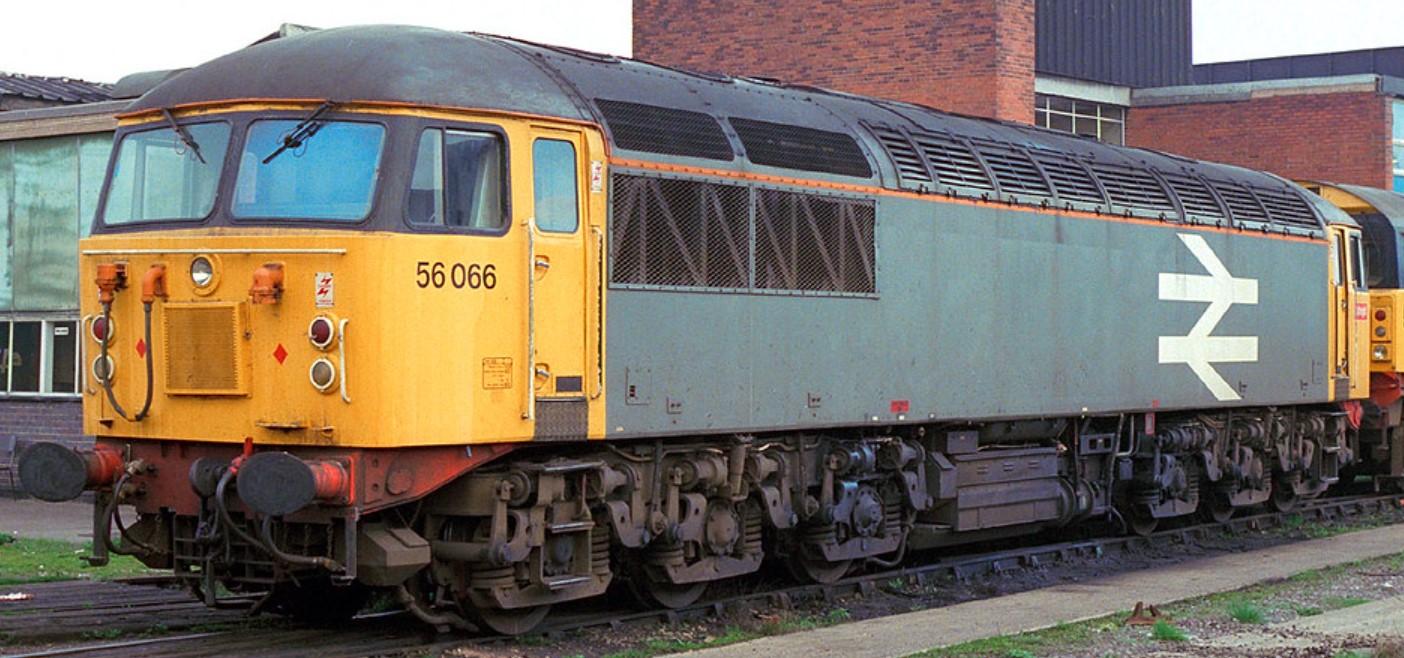 56066 at Saltley in 1987. steve jones