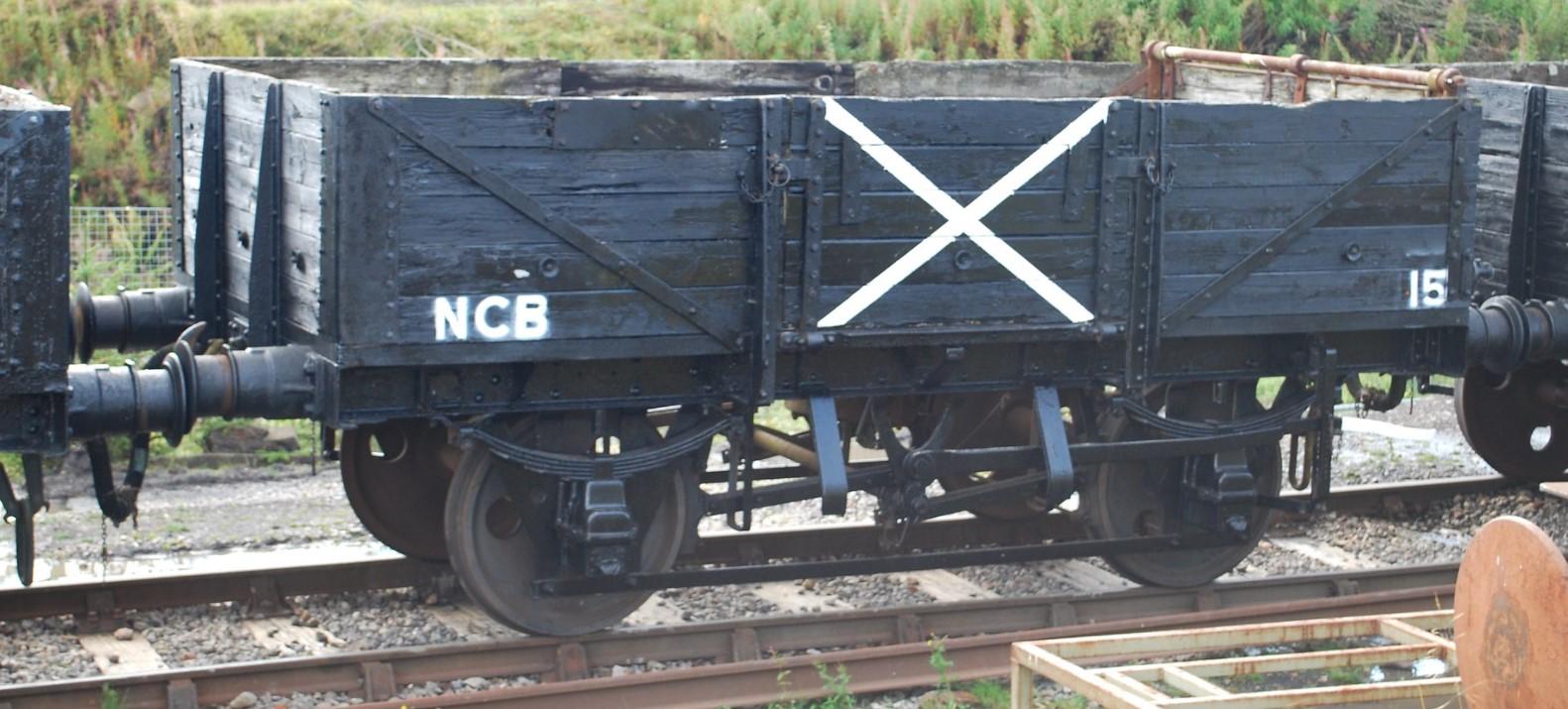 B743415 at Blaenavon on the Pontypool & Blaenavon Railway in September 2011. ©Hugh Llewelyn