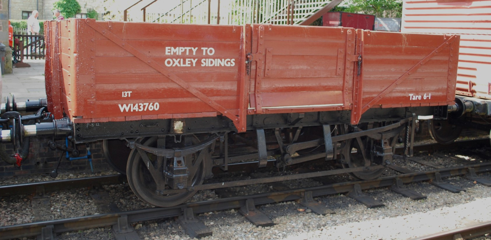 W143760 at Winchcombe on the Gloucestershire & Warwickshire Railway in September 2013. ©Hugh Llewelyn