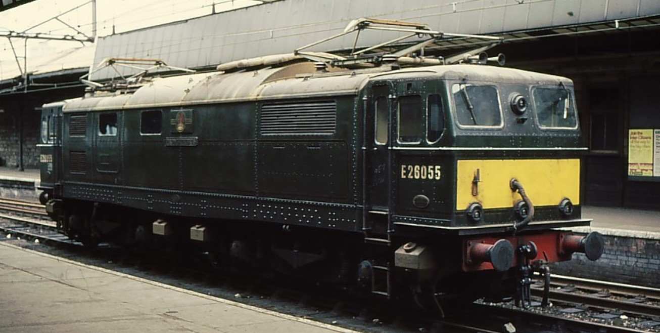 E26055 at Sheffield Victoria. © Phil Sangwell