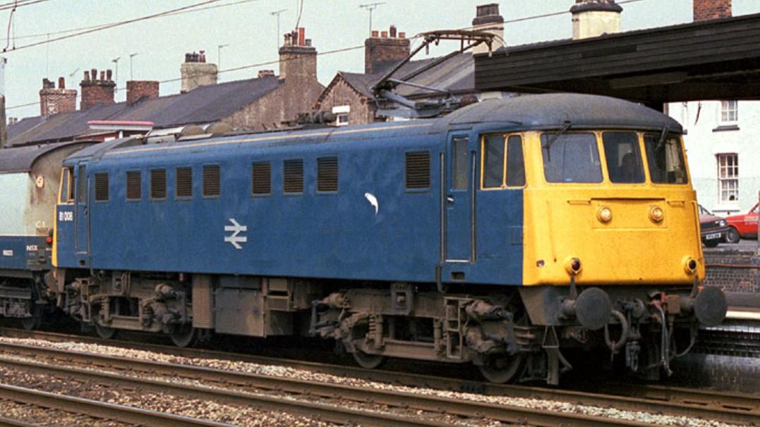 81008 at Stafford in April 1987. ©Steve Jones