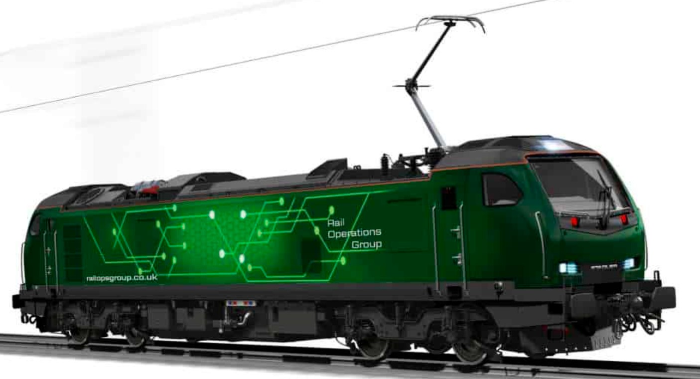 Promotional CGI picture of the forthcoming Class 93. ©Rail Operations Group