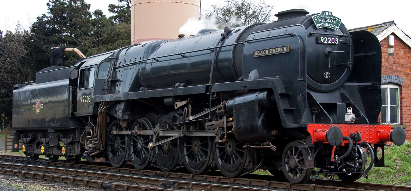 92203 'Black Prince' at Toddington on the Gloucestershire and Warwickshire Railway in April 2010. ©Tony Hisgett