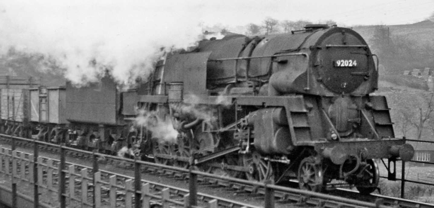 92024 at Chesterfield in March 1959. ©Ben Brooksbank