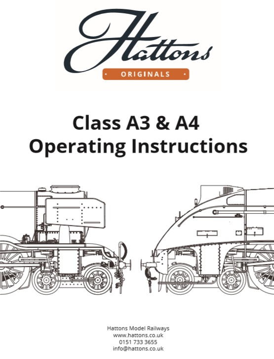 class A3 & A4 instruction booklet cover 1
