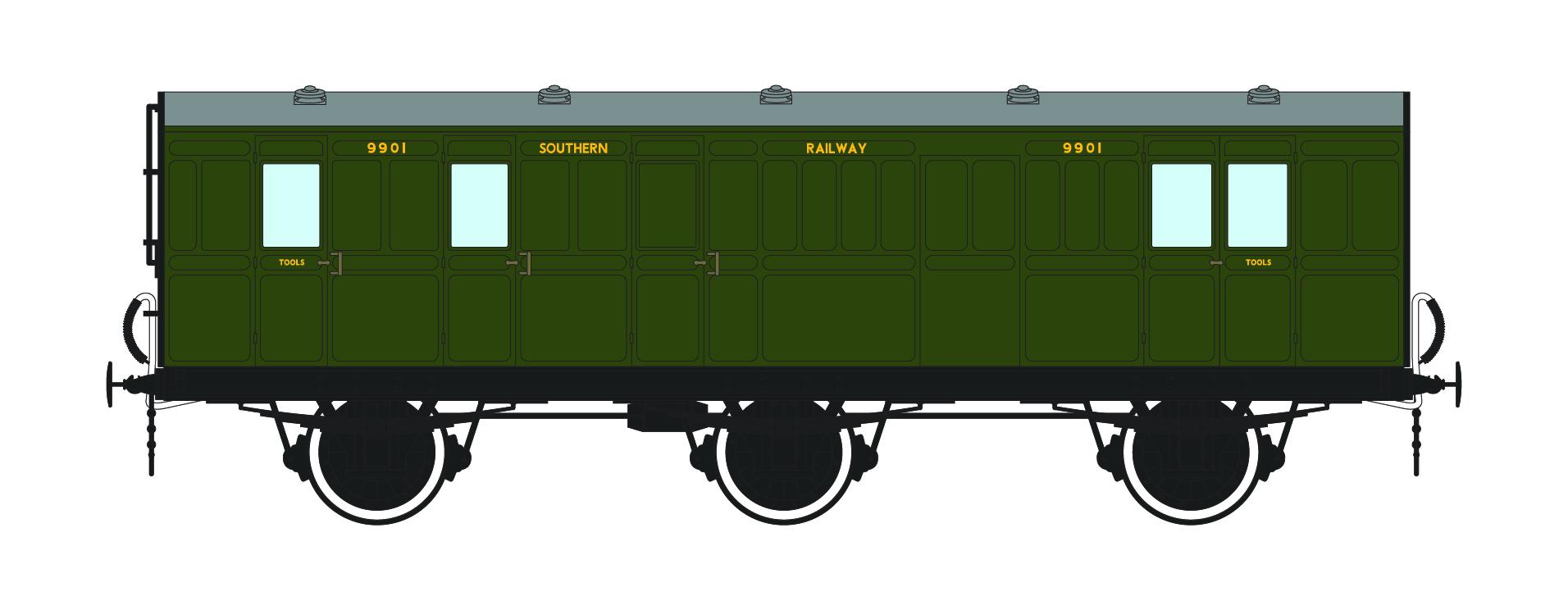 sr 6 wheel coach