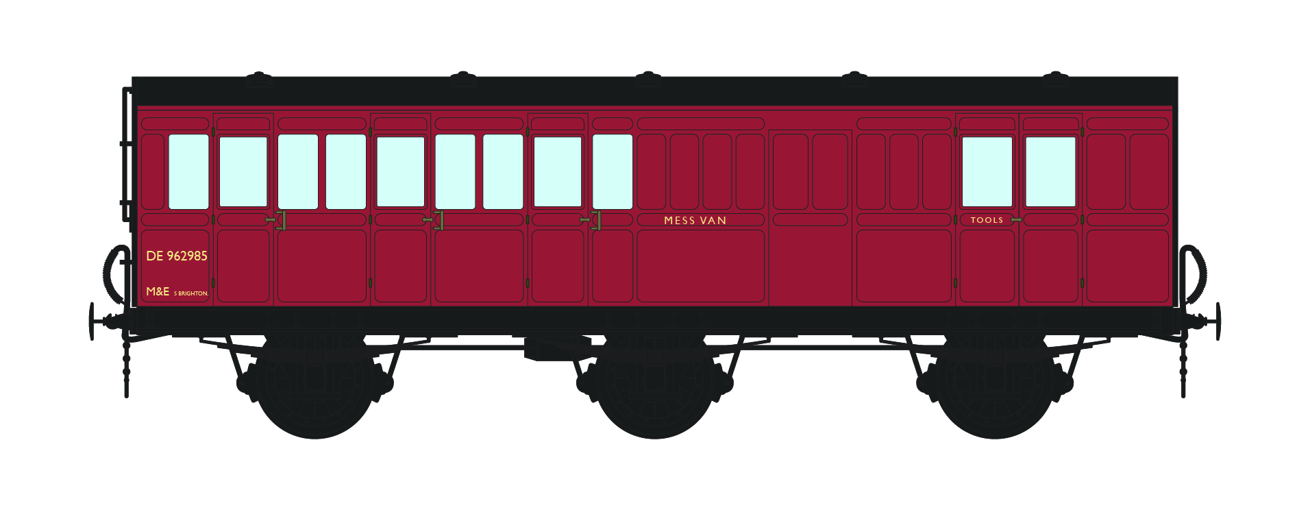 BR 6 wheel coach