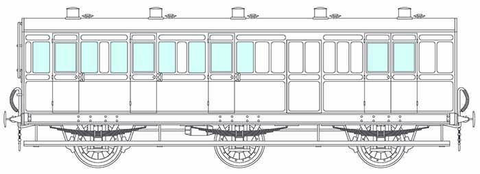 6 wheel brake coach