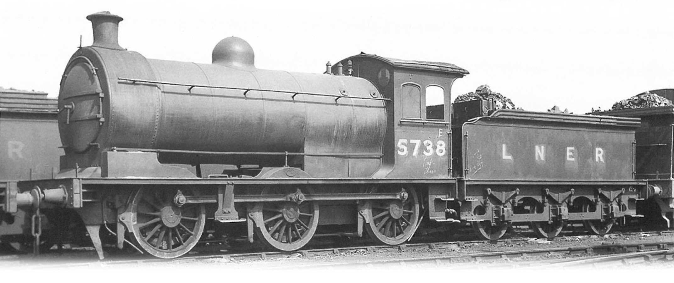 5738. Date Unknown. ©via Oxford Rail