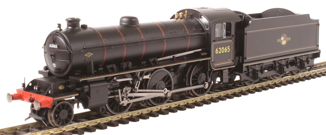 Hornby R3417 BR K1 Class 2-6-0 /'62065/' Lined Black Late Crest BEST LOWEST PRICE