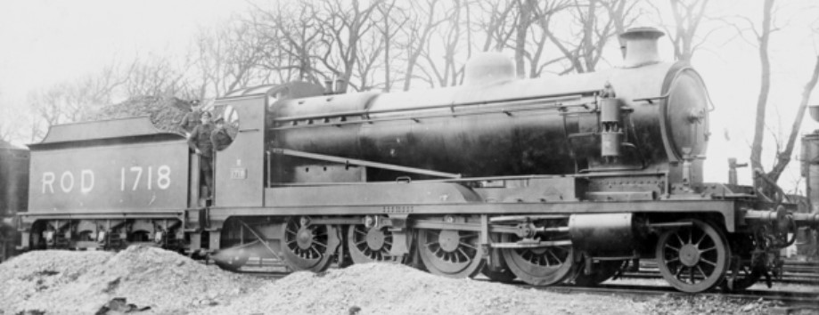 1718 at Couchil-le-temple, France in January 1919. ©Public Domain