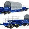 Accurascale OO Gauge KUA Nuclear Flask Wagons - Available Now