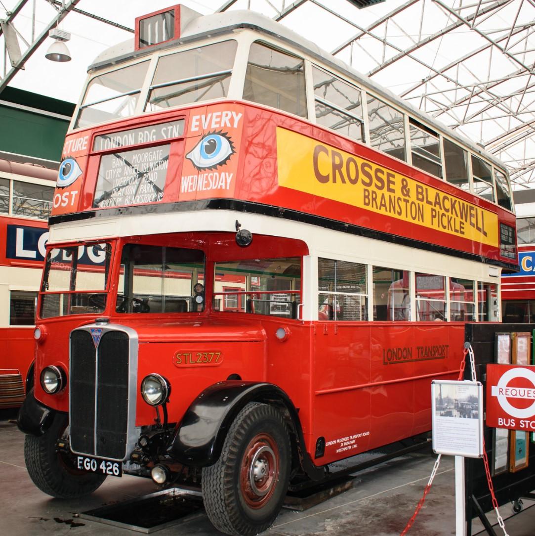 EGO426 at the London Bus Museum, Brooklands in June 2017. ©Dan Adkins