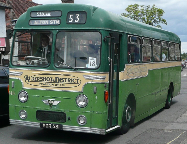 MOR 581 at Alton in July 2008. ©Arriva436