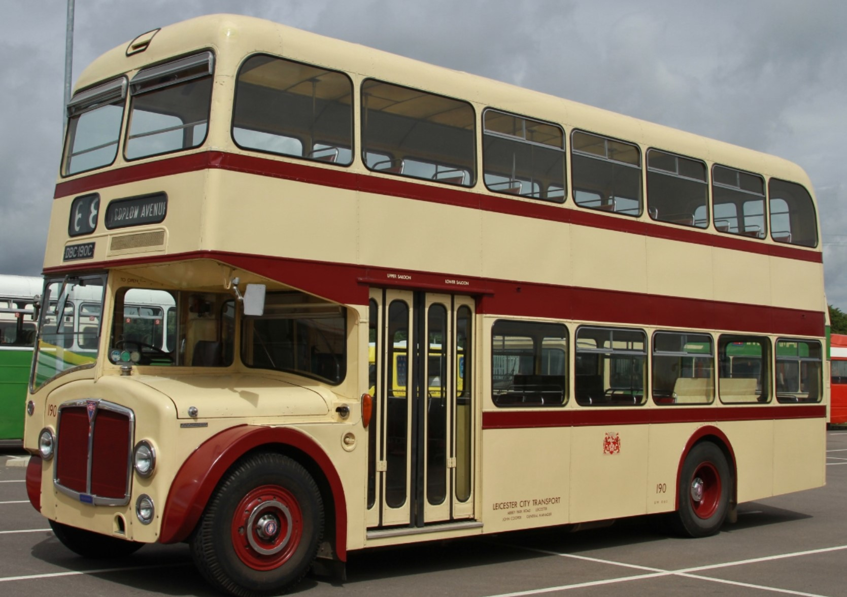DBC 190C at Oxford Parkway in July 2017. ©Motacilla