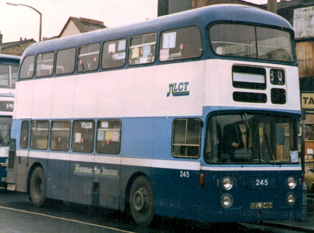 SEL 245H at Bournemouth Bus Sation in the 1970s. ©Eddie Leslie