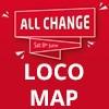 Crewe 'All Change' Event Locomotive Map
