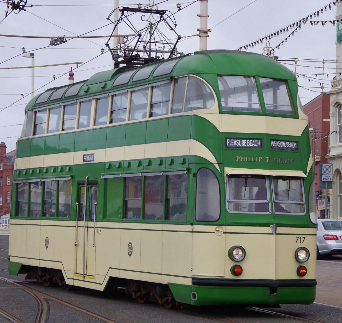 717 at Blackpool in June 2013. ©Clagmaster