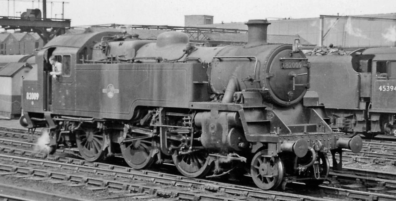 82009 at Crewe in July 1958. ©Ben Brooksbank