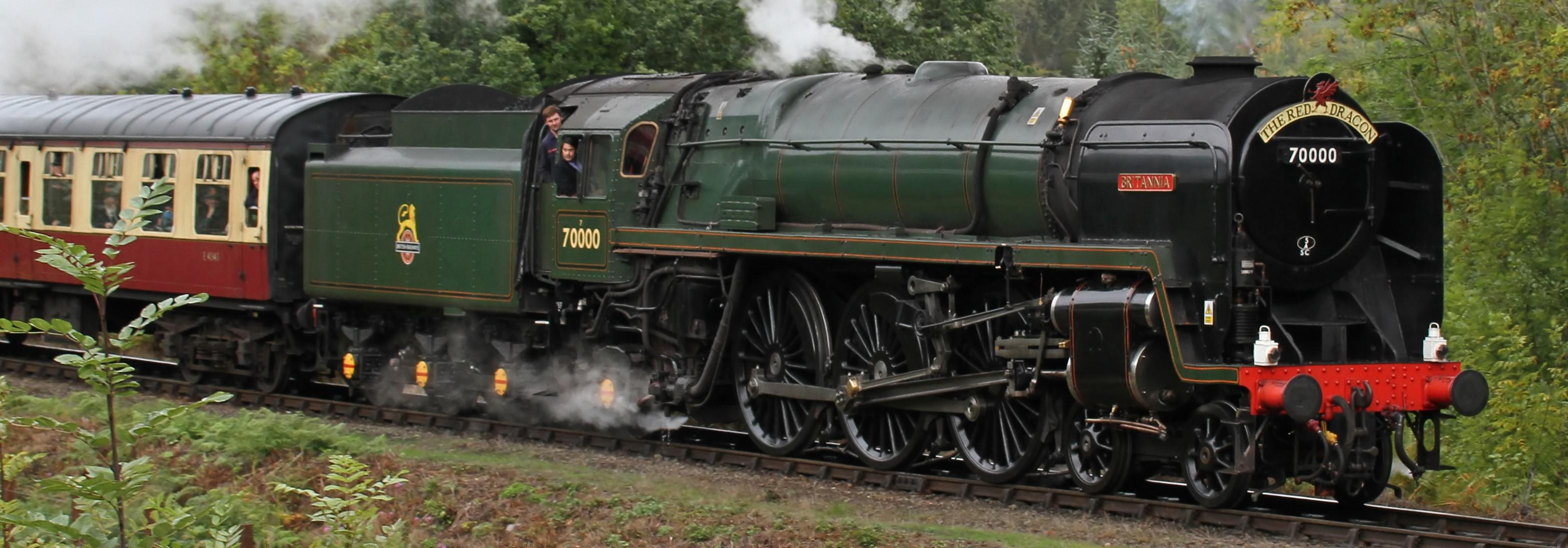 70000 'Britannia' at Highley in September 2018. ©Tony Hisgett