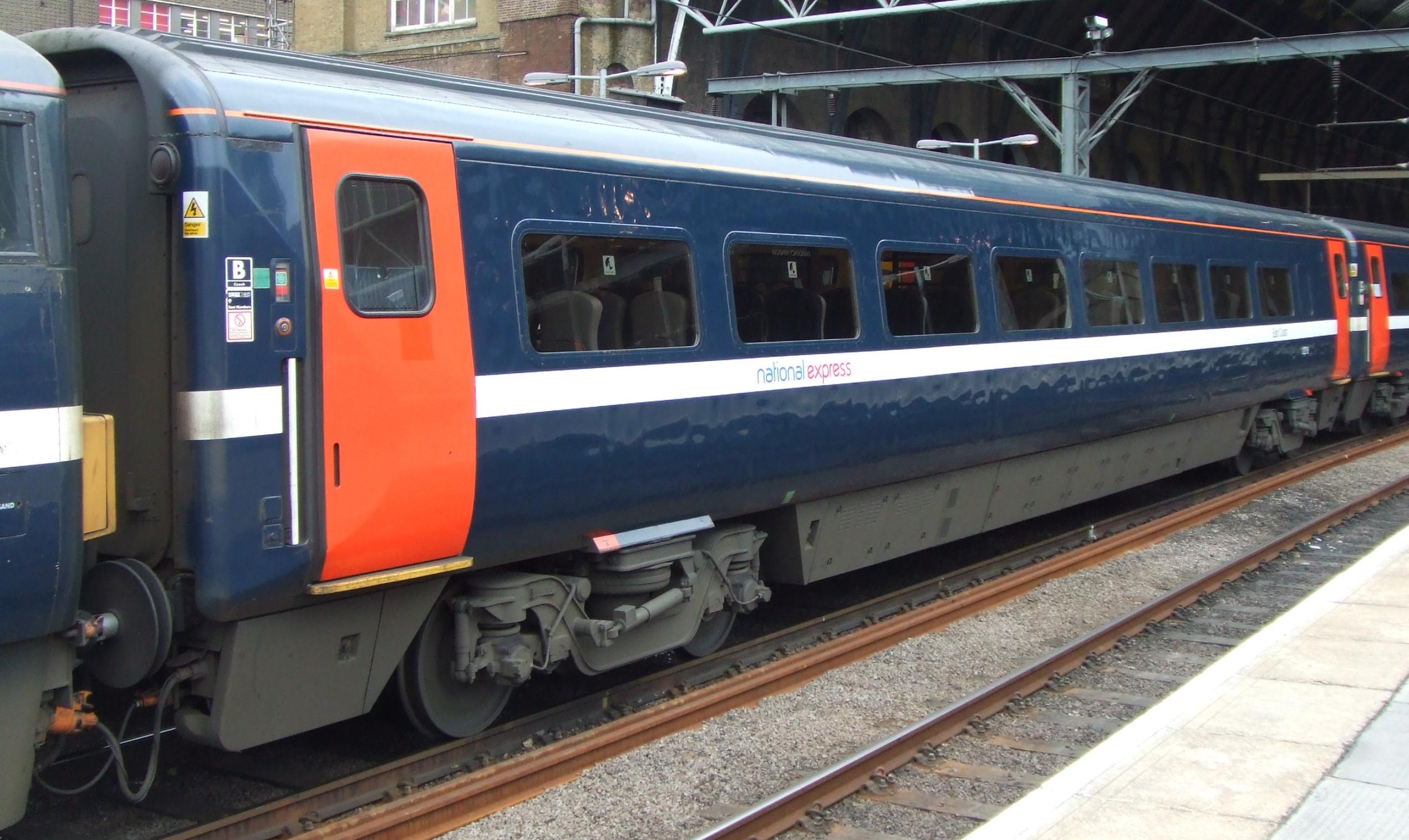 Mk4 TSOE 12209 at London Kings Cross in March 2008. ©Hugh Llewelyn