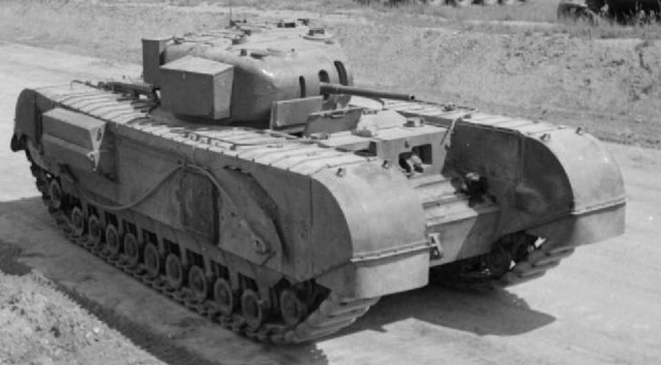 Mk2 tank during WW2. ©Public Domain
