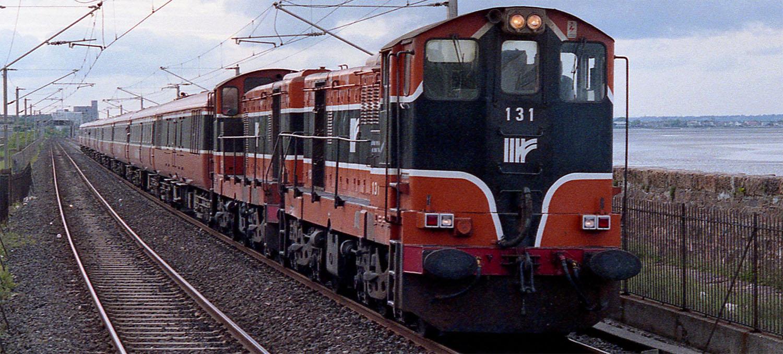 No. 131 and 126 at Blackrock in June 1992. © 6089Gardener