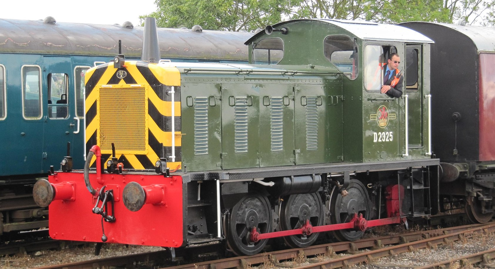 D2325 at the Mangapps Railway Museum in August 2011. ©Justin Foulger