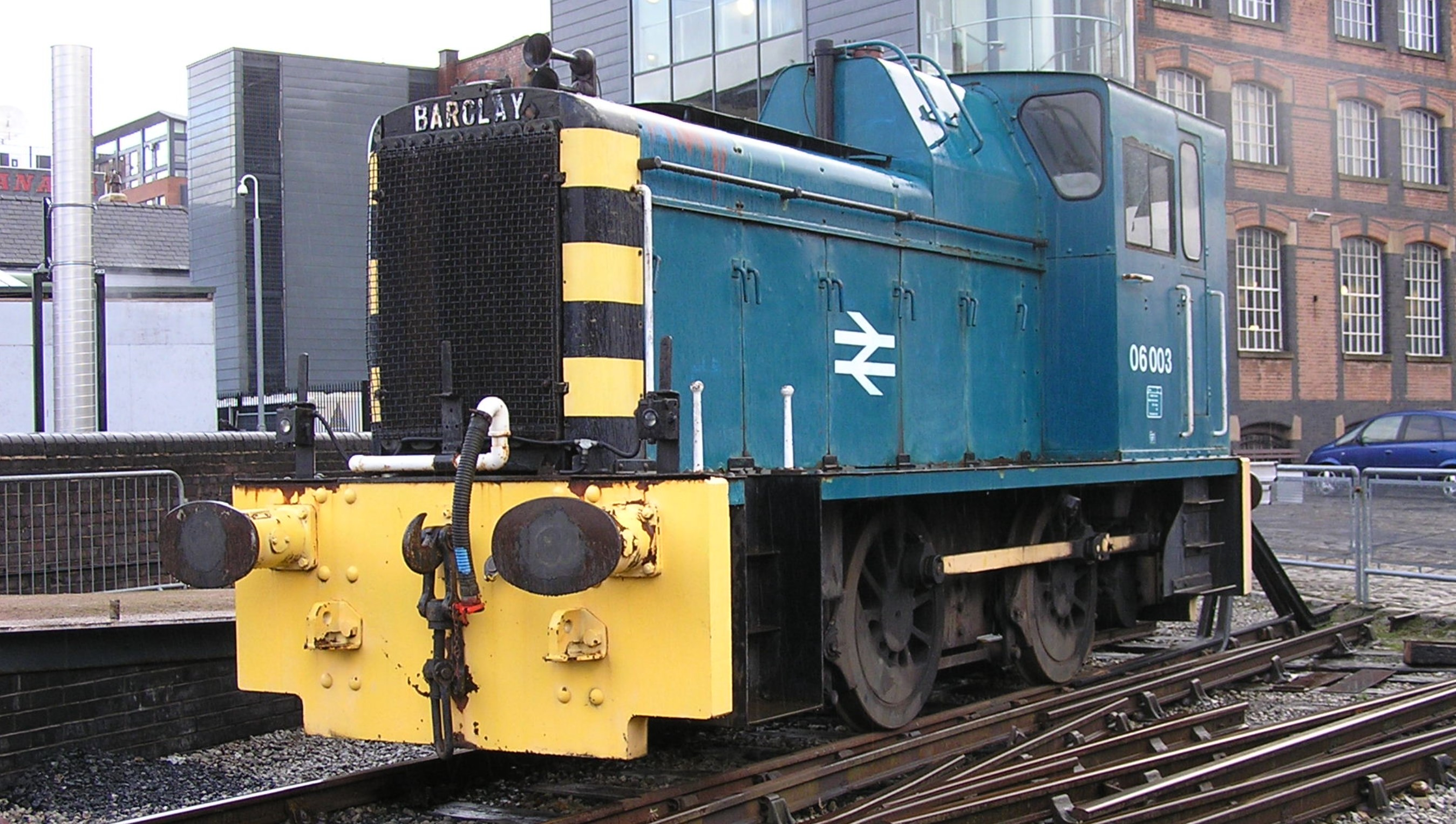 06003 at the Museum of Science & Industry in Manchester in December 2011. ©Gillett's Crossing